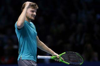 David Goffin le ganó a Thiem y se cruzará con Federer