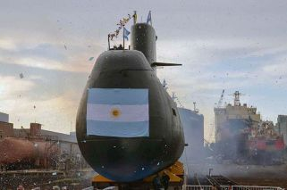Submarine disappears off Argentine coast