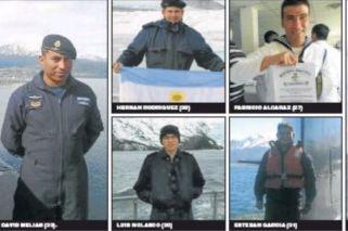 Quiénes son los tripulantes a bordo del submarino desaparecido