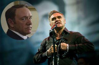 Morrissey defendió a Kevin Spacey de las acusaciones por acoso