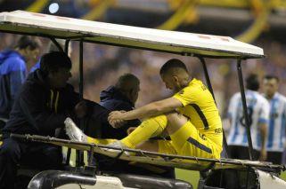 Sufre Boca y la Selección: Benedetto se rompió los ligamentos