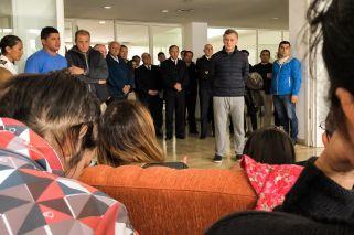 Macri se reunió con los familiares de la tripulación del submarino