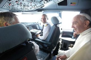 Meeting the papal pilot: the man who flies Francis around the world