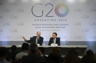 Little mention of trade in statement as G20 officials issue communiqué
