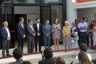Vidal, Carlotto inaugurate new remembrance site in La Plata