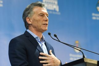 Macri says Argentina's currency crisis is over