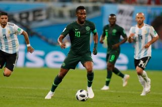 Nigeria captain hid news of dad's abduction during World Cup match with Argentina