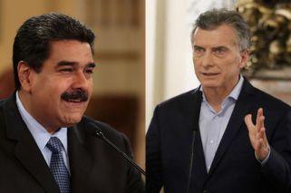 Macri to petition ICC over Venezuela's 'crimes against humanity'