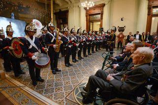 Argentina's World War II veterans honoured by lawmakers in Congress