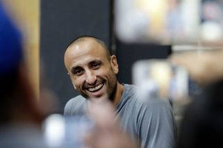 Manu Ginóbili content with retirement after 16 seasons with Spurs