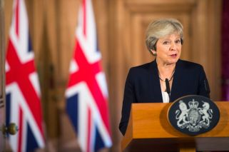 PM May lashes out at EU: 'The UK expects respect from Europe'