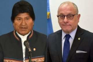 Evo Morales 'rejects' CFK's indictment; Faurie fires back
