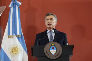 President Macri tells Argentina: 'We have very difficult months ahead of us'