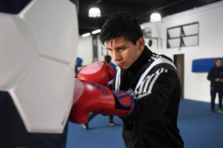 'I want to be a world champion' - Argentina's youth boxer is going for gold