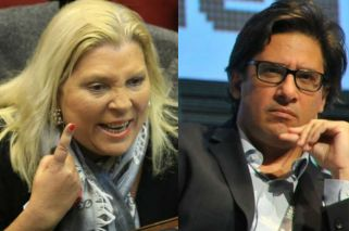 Carrió acts on impeachment threat against Justice Minister Garavano