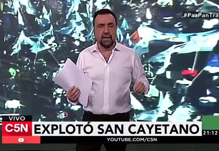 Navarro denunció a periodistas corruptos y criticó que Fantino