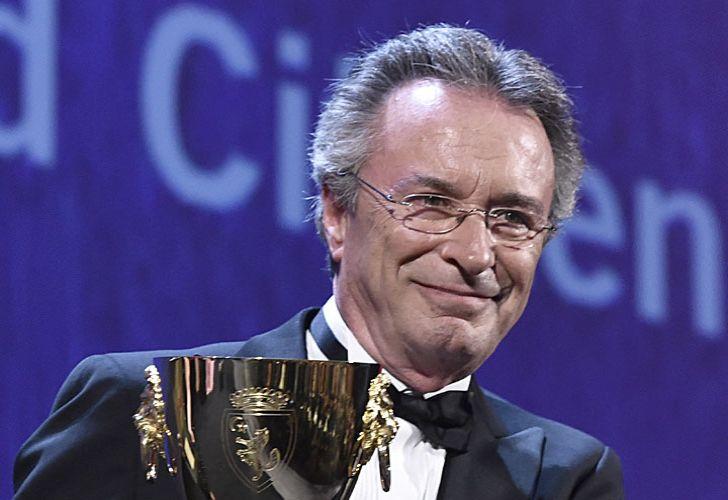 Copado. Martínez ayer al recibir el premio por su papel de Daniel Mantovani en El ciudadano ilustre.