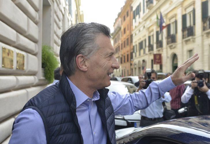Macri en Roma
