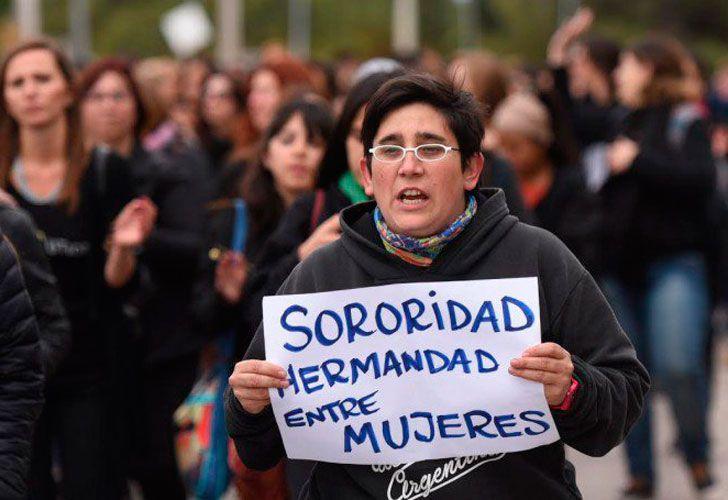 Marcha #NiUnaMenos en Mendoza