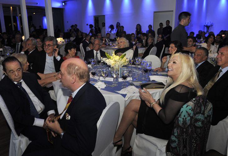 Alberto Fontevecchia, Susana Giménez y el presidente de la Corte Suprema, Ricardo Lorenzetti.