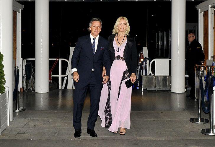 Alejandro Gravier y Valeria Mazza.