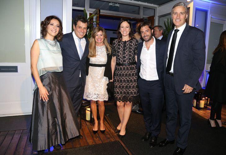 Josefina y Facundo Manes junto a la ministra de Desarrollo Social, Carolina Stanley y su marido, el ministro de Gobierno de la provincia de Buenos Aires, Federico Salvai.