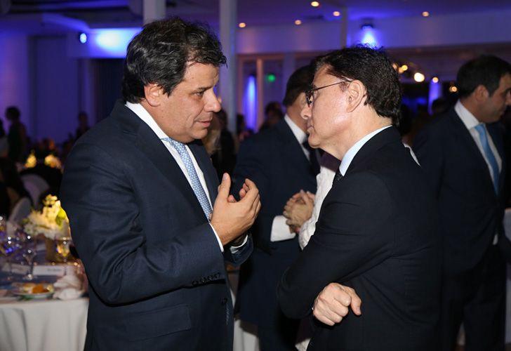 El presidente de la Fundación INECO, Facundo Manes, junto al CEO de Editorial PERFIL, Jorge Fontevecchia.