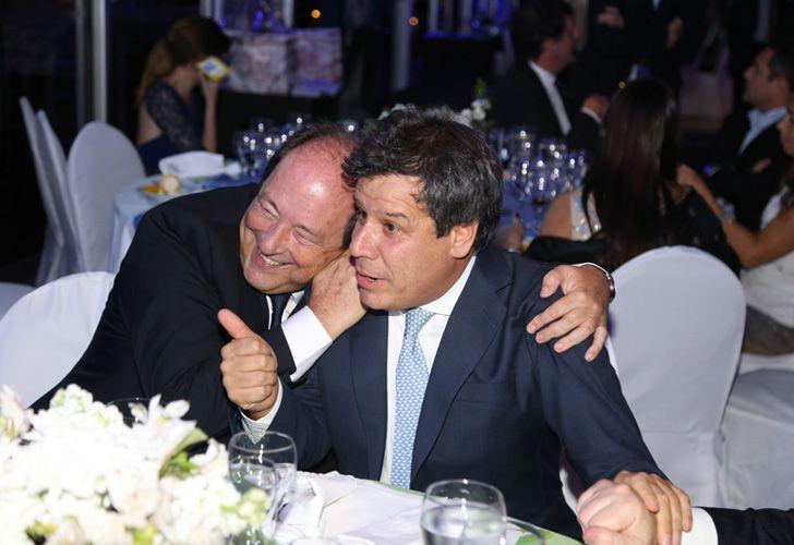 Ernesto Sanz y Facundo Manes.