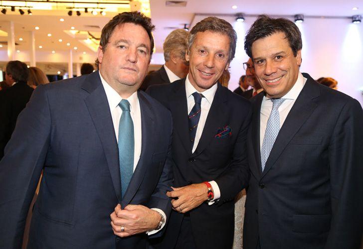 Alejandro Gravier junto a Facundo Manes.