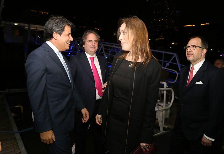 Facundo Manes y la gobernadora María Eugenia Vidal.