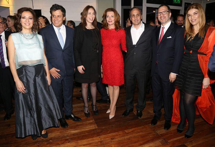 Facundo Manes y la gobernadora de Buenos Aires, María Eugenia Vidal.