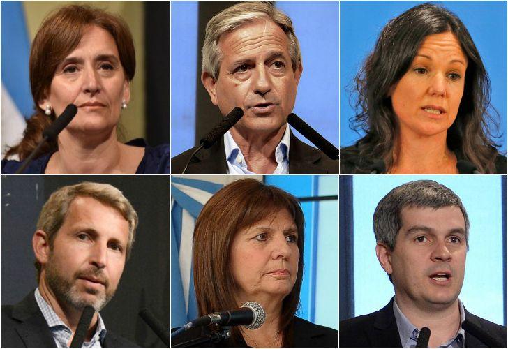 Michetti, Ibarra, Stanley, Frigerio, Bullrich, Peña: son algunos de los funcionarios con familiares en el Estado.