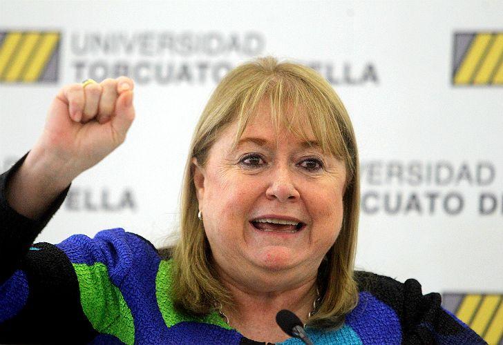 Susana Malcorra, canciller argentina, ex candidata a la Secretaría General de las Naciones Unidas.