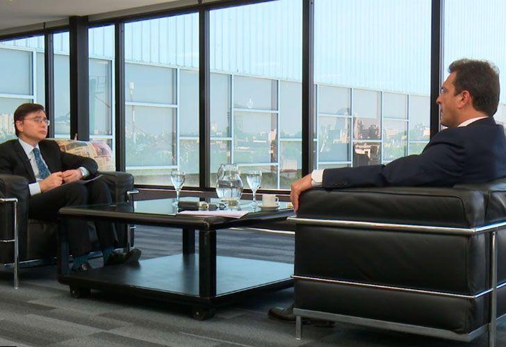 Fontevecchia entrevista a Sergio Massa