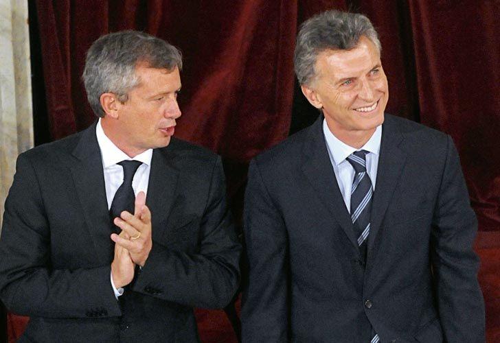 Macri y Monzó.