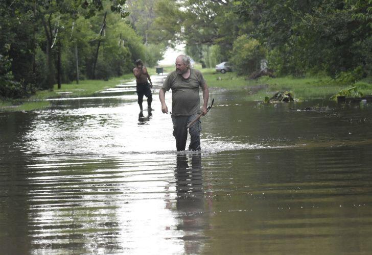 Inundaciones en el Litoral.