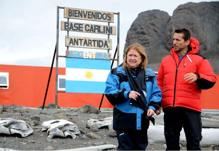 Malcorra en Antartida