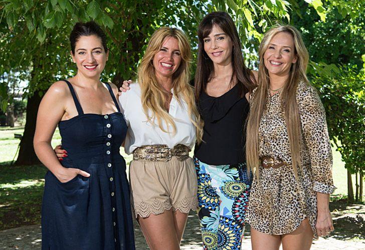 Cuarteto. Debutan mañana, y enfrente tendrán en Telefe el estreno de Amar después de amar, con Isabel Macedo y Eleonora Wexler.