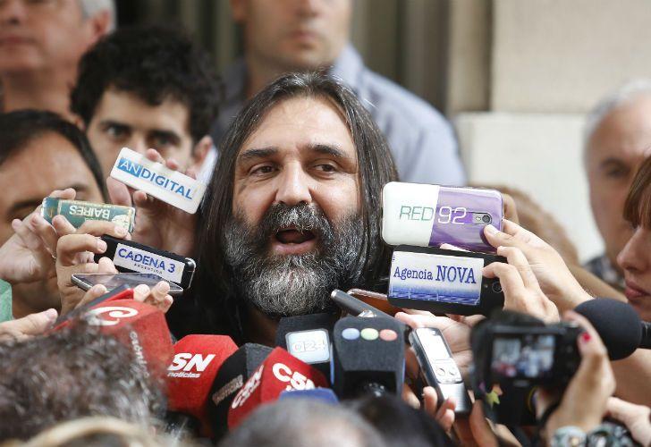 El titular de SUTEBA realizó una conferencia de prensa y le apuntó a Vidal.