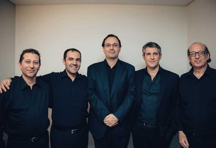 Homenaje a Astor Piazzolla en el CCK. Quinteto de la Fundación Astro Piazzolla.