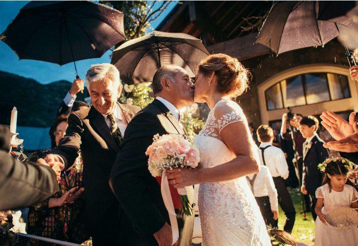 Luego de 10 años, se casó Rodríguez Saá.