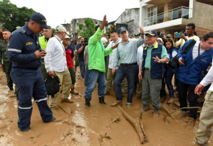 Un alud dejó más de 110 muertos en Colombia.