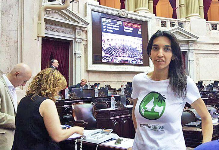 Protagonista. Valeria Lasech estuvo al frente de las gestiones con los legisladores que llevaron a la ley.