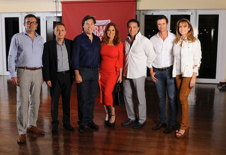 Pepe Gomez, Daniel Maman, Edgardo Defortuna, Maria Celeste Arraras, Osvaldo Rios, Gustavo Oribe, Ana Cristina Defortuna