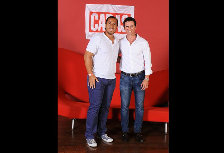 Willy Canas y Gustavo Oribe