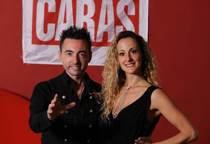 Richard Laffite y Carolina Delise