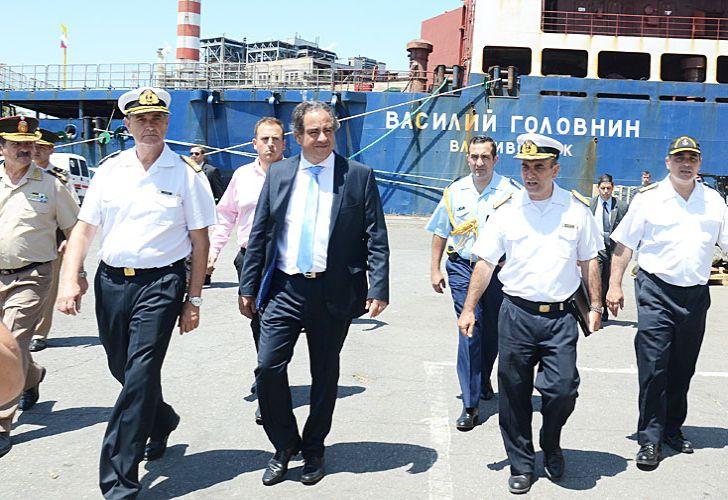 Ministro. Julio Martínez, titular de Defensa, uno de los imputados.