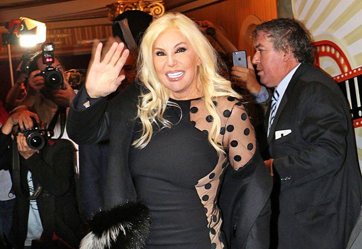 Diva. Cuando Susana entró al teatro Lola Membrives fue ovacionada por todo el público.