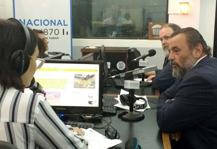 María Laura Santillán entrevista al juez Campagnoli