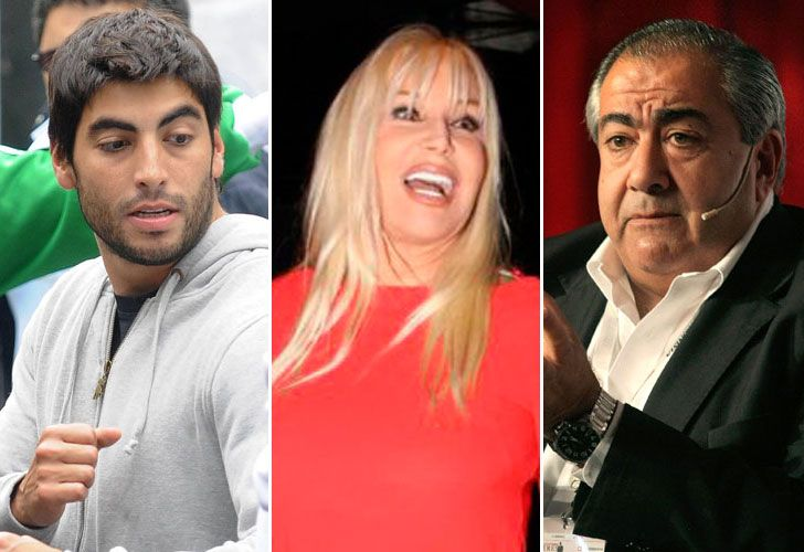 Facundo Moyano, Susana Gimenez y Daer